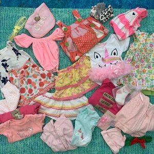 Wardrobe baby girls 0-3 and 3 months !!